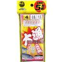 タカミヤ(TAKAMIYA) 大漁シンプルサビキ仕掛 5枚組 ピンク4号 TF10
