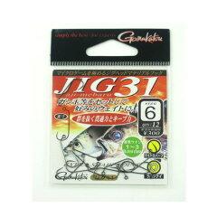 がまかつ(Gamakatsu) ジグ(JIG) 31 #6 NSB【釣具のポイント】