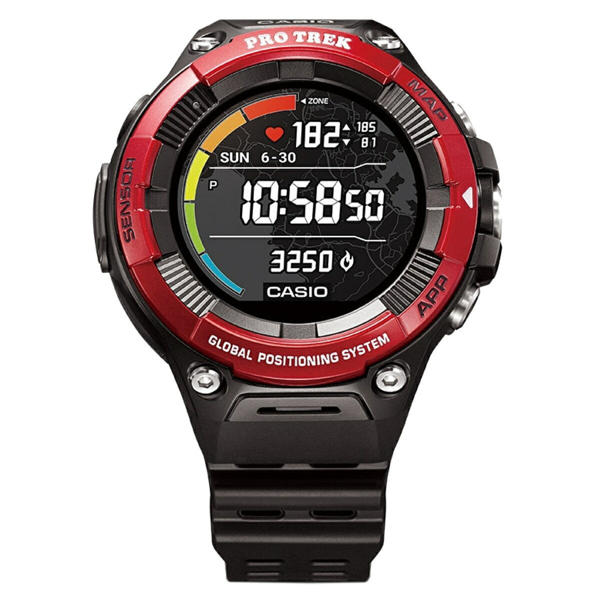 CASIO Watches PRO TREK Smart WSD-F21HR-RD