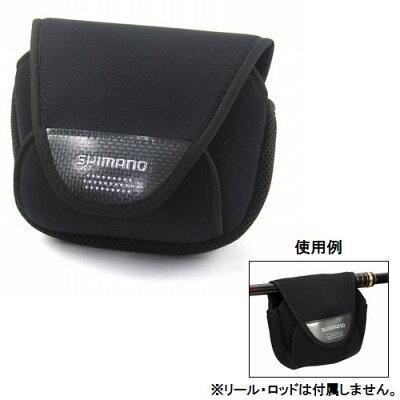 シマノ(SHIMANO) リールガード(スピニング用) PC−031L SS ブラック【釣具のポイント】