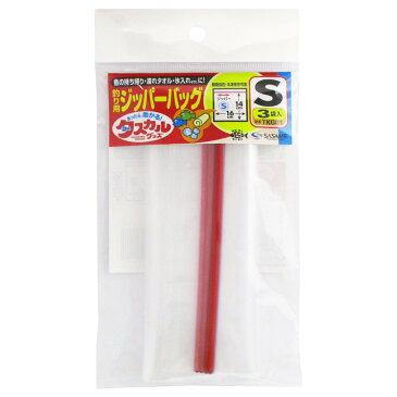 ささめ針 タスカル ジッパーバッグ TKG01 S【ゆうパケット】