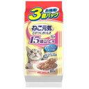 ユニチャーム 猫用ウェットフード ねこ元気 総合栄養食 パウチ 15歳以上用 まぐろ入りか...