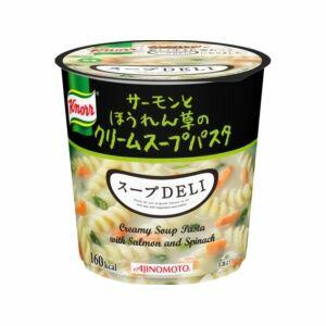 味の素 クノール スープDELI サーモンとほうれん草のスープパスタ 6入