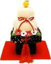 『華鏡餅』手作ちりめん細工 迎春・お正月飾り・置物和雑貨 なごみ かわいい リュウコドウ