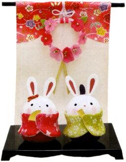 """""""繈褓 oboko 兔子小雞精確與 ' 自製縐製作日本可愛小玩意垃圾娃娃緊湊 lyukodu"""