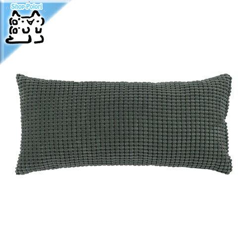 【IKEA Original】GULLKLOCKA -グルクロッカ- クッション ダークグリーン 65x30 cm