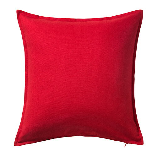 【IKEA Original】GURLI -グルリ- クッションカバー レッド 50x50 cm