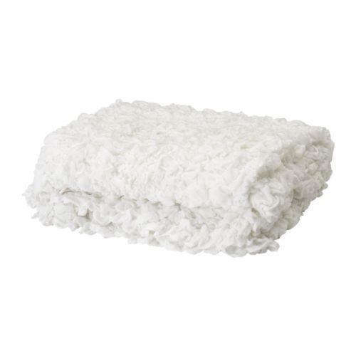【IKEA Original】OFELIA -オフェーリア- 毛布 ホワイト 130x170 cm