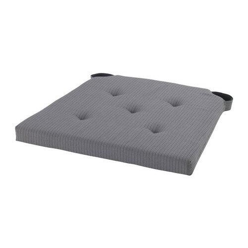【IKEA Original】JUSTINA -ユスティーナ- ポリウレタンフォーム チェアパッド グレー