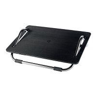 【IKEAOriginal】DAGOTTOオフィスチェア用フットレストブラック