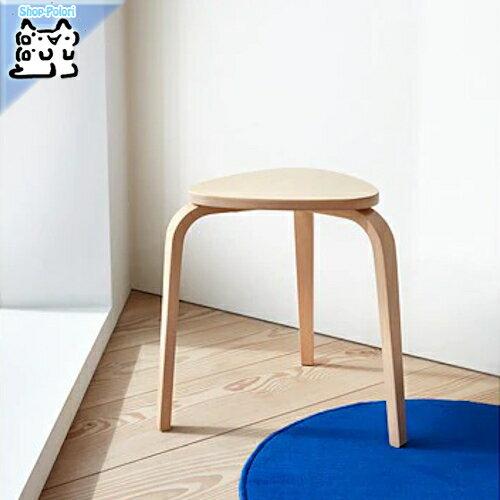 【IKEA Original】KYRRE -シルレ- イス スツール バーチ 45 cm