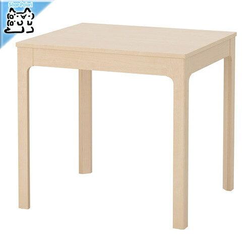【IKEA Original】ikea テーブル EKEDALEN -エーケダーレン- 伸長式テーブル バーチ 80/120x70 cm 2〜4人用