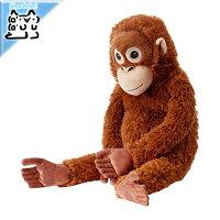 【IKEAOriginal】DJUNGELSKOGぬいぐるみソフトトイオランウータン66cm