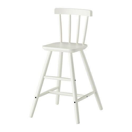 【IKEA Original】AGAM -アーガム- 子供用 ダイニング チェア ホワイト