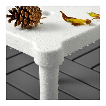 【IKEA Original】ikea スツール UTTER 子供用スツール 室内/屋外用 ホワイト 28x28 cm