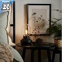 【IKEA Original】TARNABY テーブルランプ ブラック チャコール 25 cm