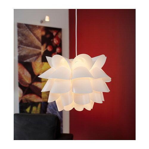 【IKEA Original】KNAPPA -クナッパ- シーリング ペンダントランプ ホワイト 間接照明の写真