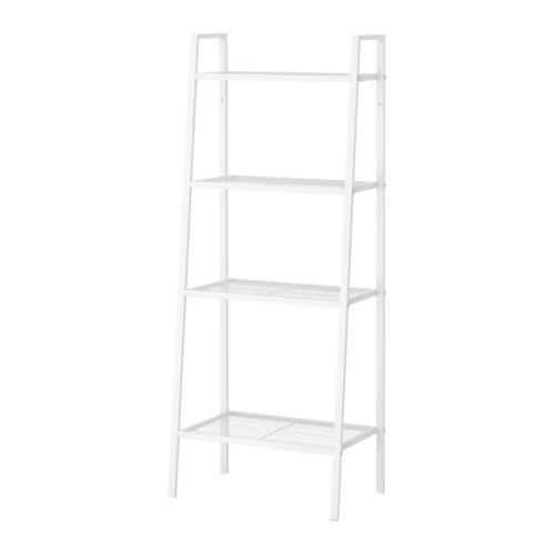 【IKEA Original】LERBERG -レールベリ- シェルフユニット ホワイト 60x148 cmの写真