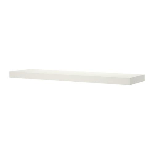 【IKEA Original】LACK ウォールシェルフ ホワイト 110x26 cm