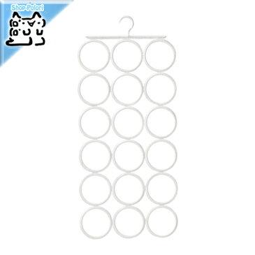 【IKEA Original】KOMPLEMENT マルチユースハンガー ホワイト ネクタイ・ベルト・スカーフ用ハンガー
