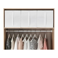 【IKEAOriginal】SKUBB-スクッブ-ボックス3ピースセットホワイト31×55×33cm