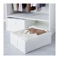【IKEAOriginal】SKUBB-スクッブ-収納ケースホワイト44×55×19cm