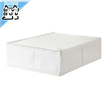 【IKEA Original】SKUBB-スクッブ- 収納ケース ホワイト 69×55×19 cm