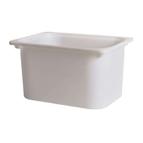 【IKEA Original】ikea チェスト TROFAST -トロファスト- 収納ボックス ホワイト Mサイズ 42x30x23 cm