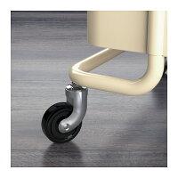 【IKEAOriginal】RASKOG-ロスコーグ-キッチンワゴンバスワゴンベージュ35x45x78cm