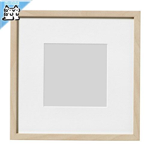 【IKEA Original】HOVSTA -ホーヴスタ- フォト フレーム 額縁 バーチ 23x23 cm