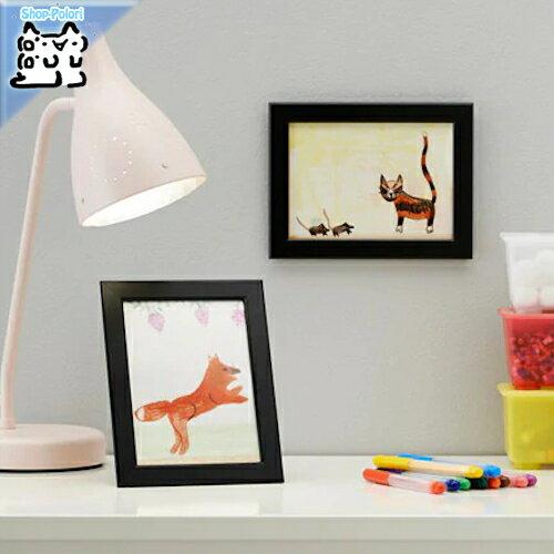 【IKEA Original】FISKBO -フィスクボー- フレーム ブラック 13x18 cm
