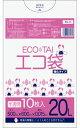 ポリスタジアム楽天市場店で買える「【バラ販売】1冊36円 10枚 ごみ袋 20リットル KN-23bara 0.015mm厚 半透明/ポリ袋 ゴミ袋 エコ袋 サンキョウプラテック」の画像です。価格は36円になります。