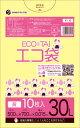 ポリスタジアム楽天市場店で買える「【バラ販売】1冊39円 10枚 ごみ袋 30リットル KY-30bara 0.015mm厚 黄/ポリ袋 ゴミ袋 エコ袋 サンキョウプラテック」の画像です。価格は39円になります。