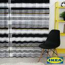カーテン【セブラグレース】【IKEA】自然素材 北欧カーテン...