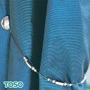 マグネットタッセルA【磁石でとまる】【売れてます】1個バラ売り カーテンタッセル トーソー メーカー品 シルバー/ブラック タッセル 磁石 カーテン留め カーテンまとめ