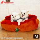 【ポイント5倍でお得】[数量限定・感謝SALE]ベッド 犬 ネコ 犬用 小型犬 M マット かわいい メキシカンドッグホットドッグ チリドッグ マット 洗える/ホットドッグカドラー [ポンポリース]