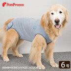 [数量限定/感謝SALE]【アウトレット価格】中型犬・大型犬用 術後カバーオール 6号 [ポンポリース][返品交換不可]
