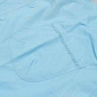 【メーカー直販】ポプキンズリボン柄刺しゅう入りレインコート後ろ身頃が長めなランドセル対応巾着袋付き120cm〜150cmコンサックスの2色展開POMPKINSキッズコート子供コートキッズコート子供雨合羽