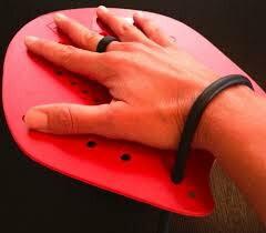 Strokemakersストロークメーカー0サイズ(15×14cm)5~11才水泳練習用具?水かき