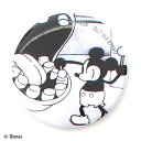 【Disney(ディズニー)】ミッキーマウス90周年記念デザイン/ミッキー 缶バッジ