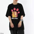 【ディズニー/ライオン・キング】シンバ&ナラ/Tシャツ