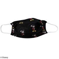 【Disney(ディズニー)/ミッキーマウス】総柄ファッションマスク【日本製】
