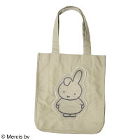 【Miffy(ミッフィー)】Dan/キャンバストートバッグ(POPPINS)