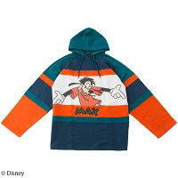 【Disney(ディズニー)】マックス&グーフィー/配色切替プルパーカー