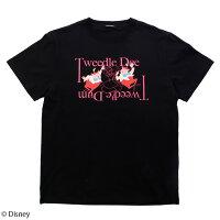 【Disney(ディズニー)/ふしぎの国のアリス】トゥイードル・ディーとトゥイードル・ダム/Tシャツ