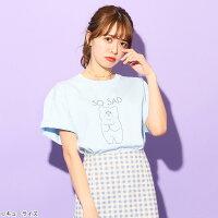 【キューライス】悲熊「SOSAD」/Tシャツ(PONEYCOMBTOKYO)