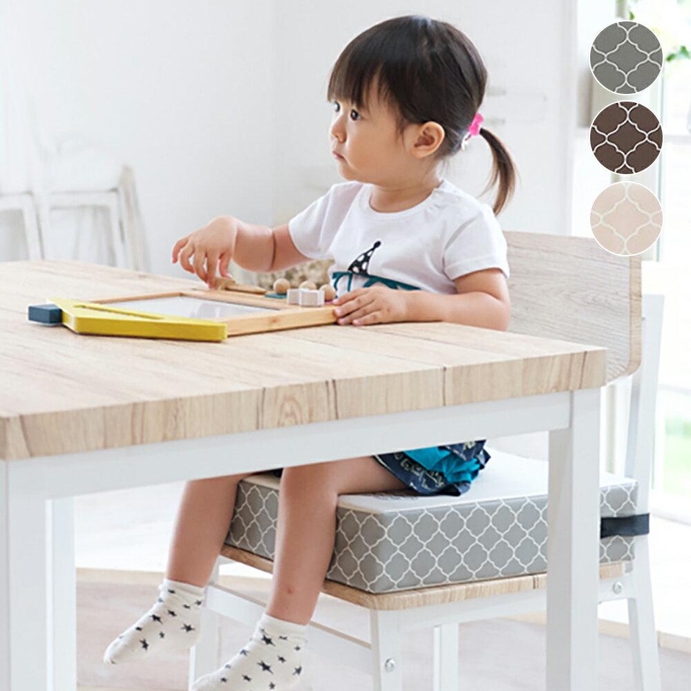 お子様用 お食事クッション BIG モロッカン チェアクッション 座布団 高さ 調節 キッズチェア ベビーチェア 子供 椅子