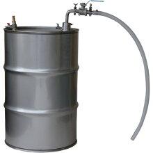 【サニタリー・大容量】ドラム缶用防爆型セパレートエアープレッシャーポンプAPDQS-1s