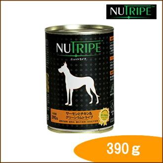 新旅行 /NUTRIPE / 經典系列三文魚和雞 & greenlamuttrahip 390 g / ¥ 5000 或更多 / / 寵物罐頭 / 寵物罐頭 / 狗罐頭寵物罐頭狗罐頭