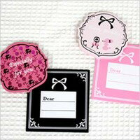 Poodle Mini Card square type